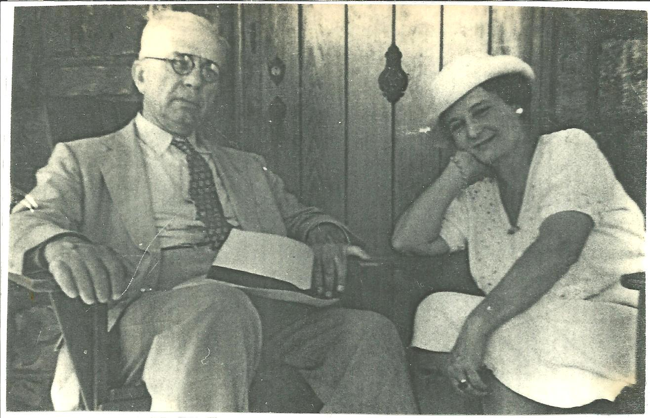 Photo of Huron and Francesca Lawson